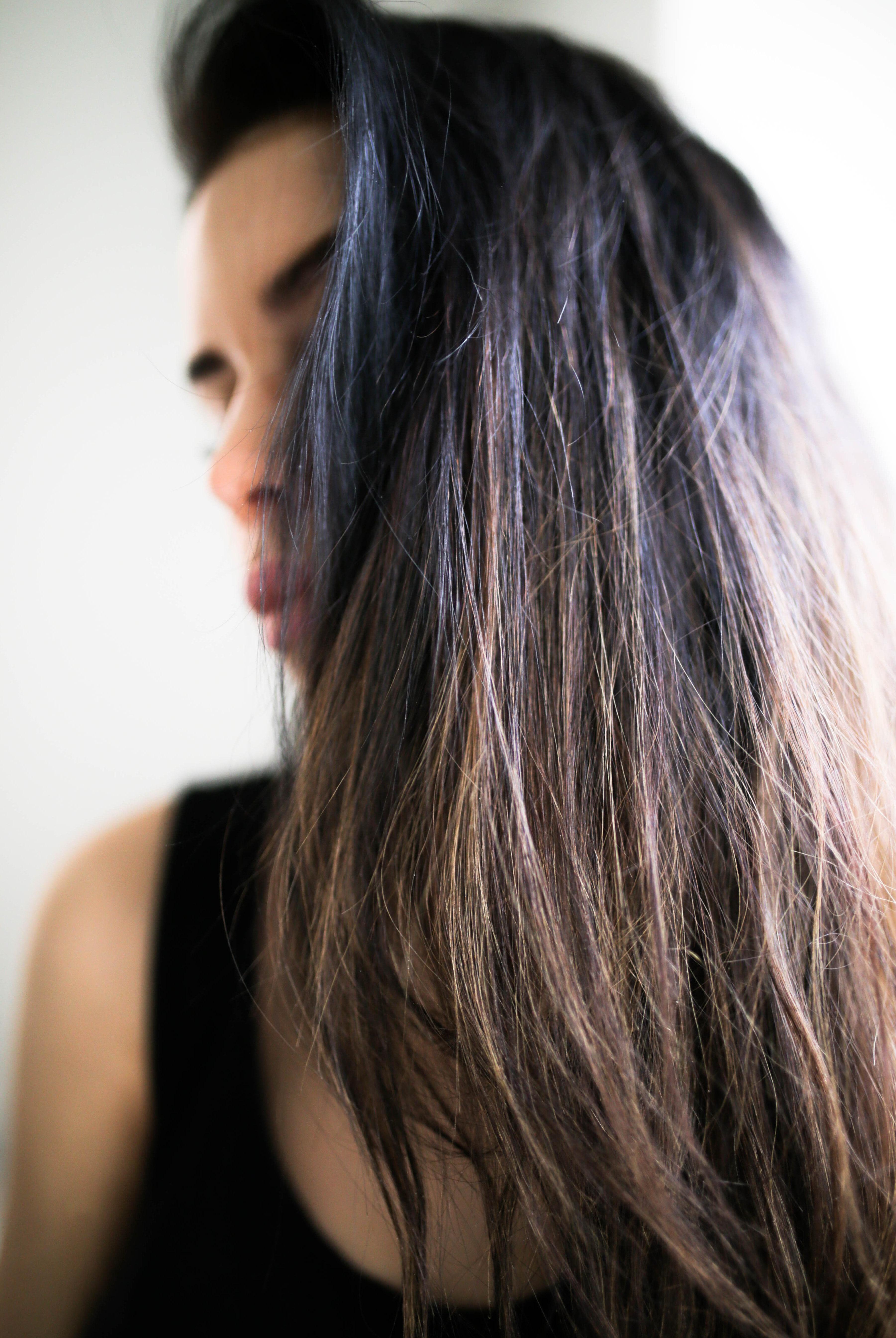 Hiusten pesuväli