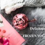 Viileä ja raikas jääjogurtti