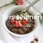 Terveellinen proteiinipuuro