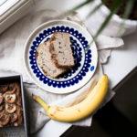 Paras gluteeniton banaanileipä