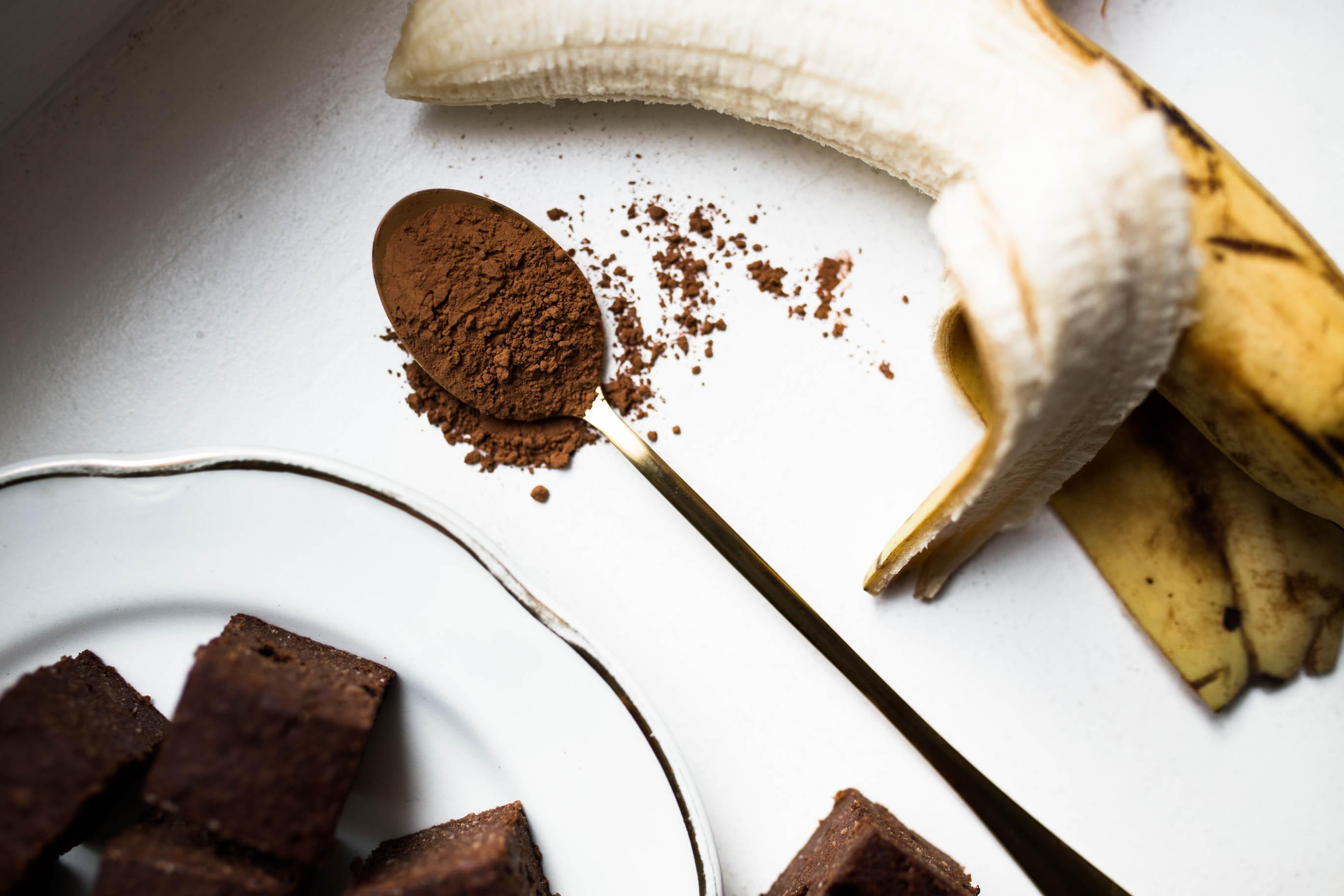 Banaani-suklaafudget