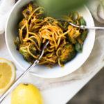 Vegaaninen parsakaalipasta